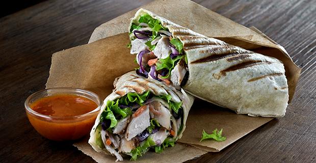 Peri Peri Chicken Fillet Wrap
